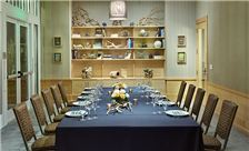 Library set up private dining