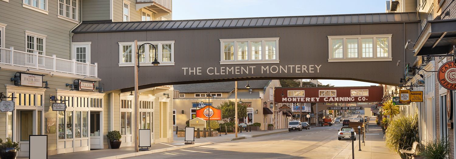 Locations of InterContinental The Clement Monterey Hotel