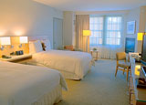 2 Double Beds With Fireplace InterContinental The Clement Monterey Hotel