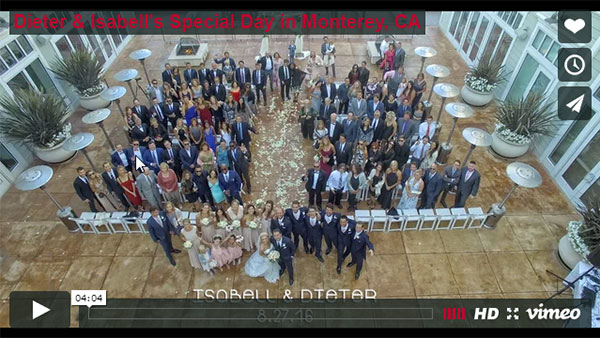 monterey california weddings Video
